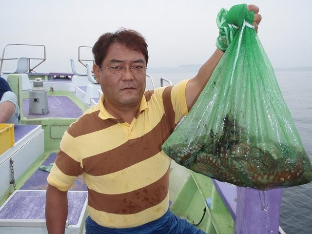 2009.6.9(火) 2回目の挑戦でトップ・8杯・宮根さん!