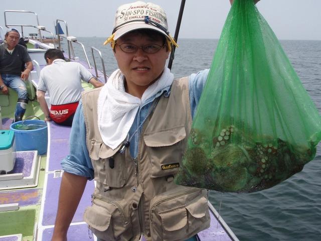 2009.6.13(土) トップ・自己新記録の11杯・塚本さん!