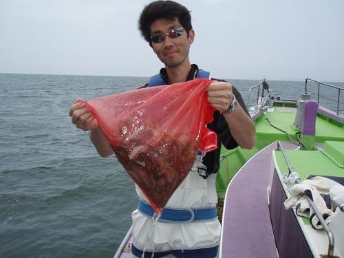 2008.6.17    11杯釣った菅原さん!