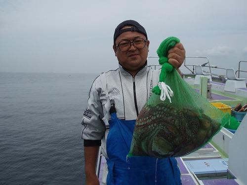 2008.7.1   11杯釣った垣沼さん!