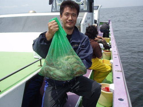 2008.7.2    7杯釣った高橋さん!