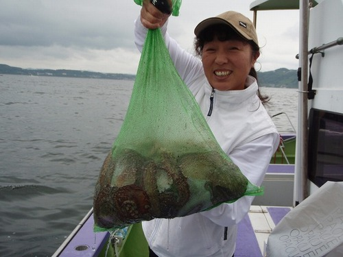 2008.7.8   13杯釣って竿頭の中山さん!