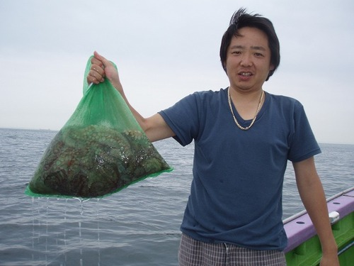 2008.7.10   14杯釣った小島さん!