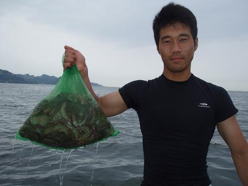 2008.7.10   14杯釣った小泉さん!