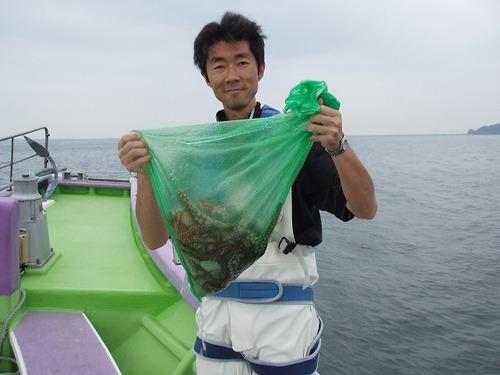 2008.7.10  11杯釣った菅原さん!
