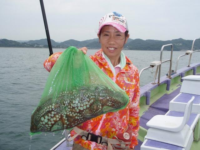 2009.7.12(日) 良型3杯・栗原千恵さん!