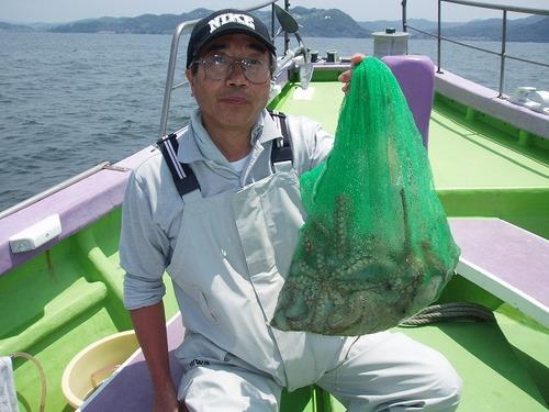 2008.7.17   7杯釣った伊藤さん!