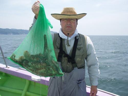 2008.7.17   7杯釣った吉田さん!