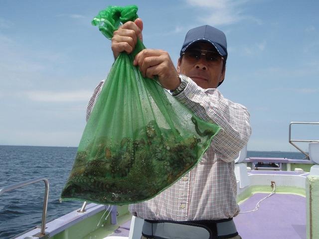 2009.7.20(月) トップ・5杯で5.5kg・浅見さん!