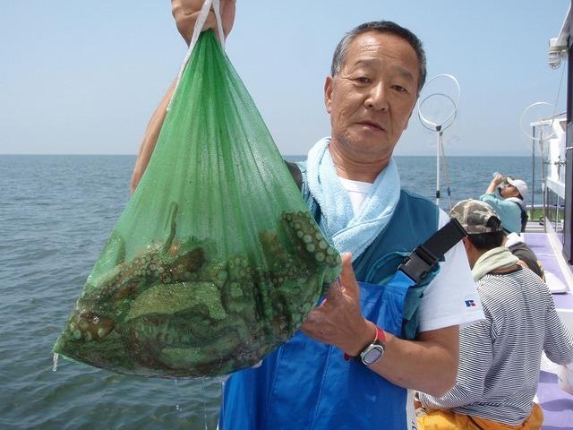 2009.8.3(月) 5杯で5.4kg・内山さん!