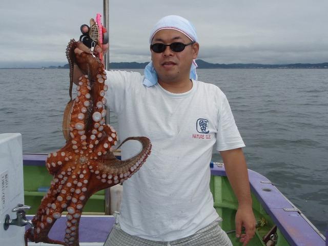 2009.8.6(木) 初挑戦で3.6kg・相原さん!