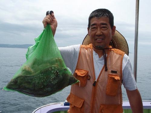 2008.8.10   2番手・6杯で6.5kg・佐藤さん!