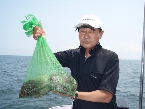 2008.8.13   2.3kg含む4杯・有井さん!