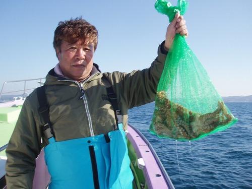2008.12.3(水) 5杯釣った三郷市の染谷さん!