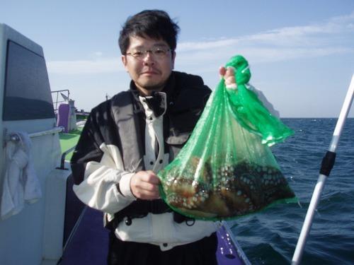 2008.12.11(木) 2.6kgと1.8kg含む5杯・遠藤さん!