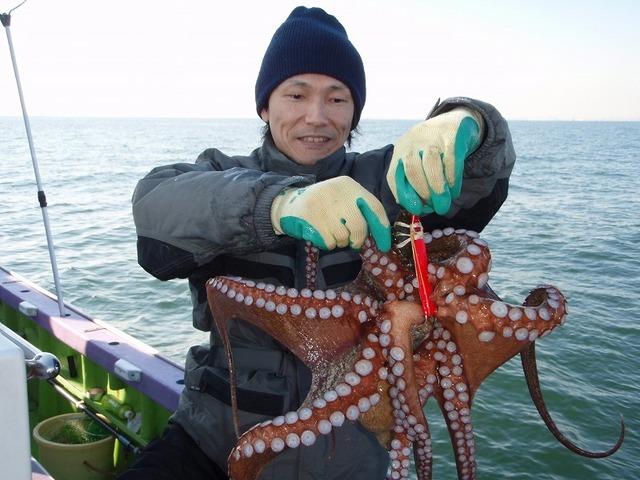 2008.12.23(火) 特大の2.9kg・我妻さん!