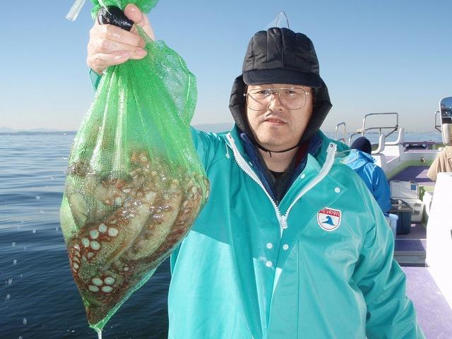 2008.12.27(土) 2.3kg含む4杯・大坪さん!