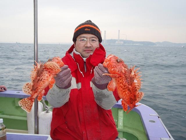 2009.1.21(水) 35cmと28cm・五十川さん!