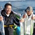2009.1.11(日) 15匹づつ釣った吉田さんと杉井さん!