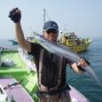 2008.7.26   95cmを釣った坂井さん!