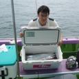 2008.7.26   40匹釣った菊池さん!