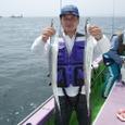 2008.8.2   27匹釣った渋谷さん!