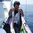 2008.8.4   39匹釣った若月悠杜君!