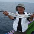 2008.8.5   3番手・38匹・岩崎さん!