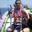 2008.8.7   2番手・50匹・黒田さん!
