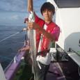 2009.8.12(水) 初挑戦で健闘の20本・久野くん!