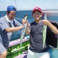 2008.8.14   2人で37匹釣った大木さん親子!
