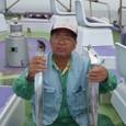 2009.8.22(土) 2号船竿頭・24本・末継さん!