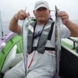 2008.8.24   2番手・32匹・田中さん!
