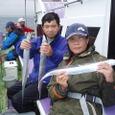 2008.8.26   初挑戦で健闘した迫中さんと横山さん!