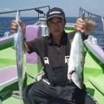 2009.8.27(木) 竿頭・16本とイナダ・横山さん!