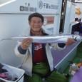 2008.12.20(土) 106cmを釣った塚本さん!
