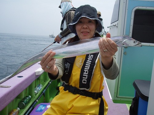 2008.7.5   8匹釣った斉藤さん!