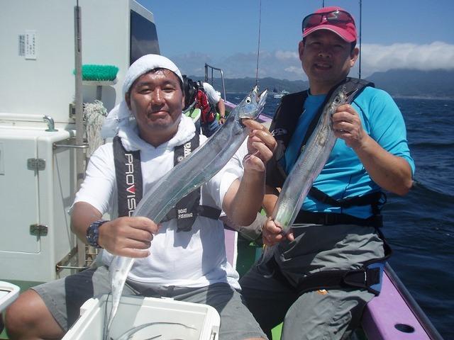 2009.7.26(日) 竿頭・20本・大類さんと2番手・18本・岡部さん!