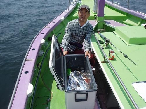 2008.7.30   竿頭・38匹・小島さん!