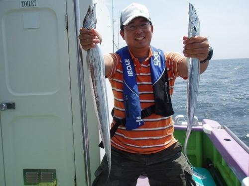 2008.7.31   21匹釣った中野さん!