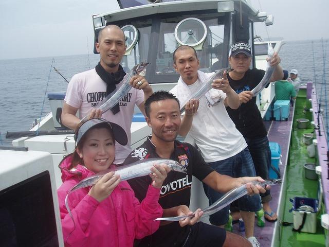 2009.8.2(日) 初挑戦で大健闘・5名で40本!