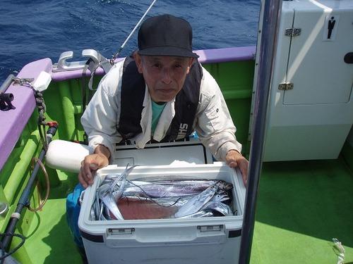 2008.8.3   3番手・43匹・山崎さん!