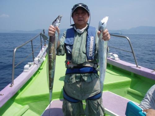 2008.8.4   2番手・51匹・坂本さん!