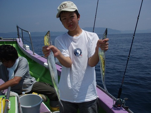 2008.8.4   49匹釣った清水拓馬君!