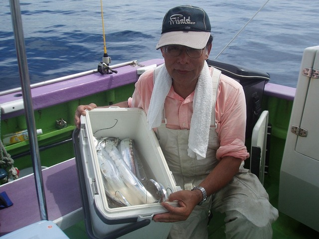 2009.8.9(日) 竿頭・23本・水野さん!