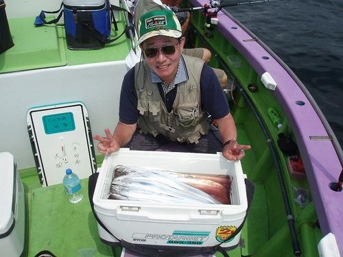 2008.8.10   22番手・44匹・太田さん!