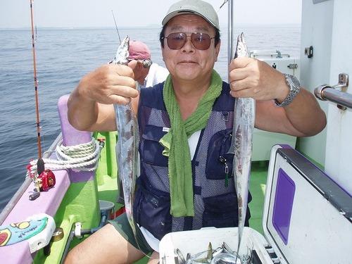 2008.8.11   3番手・43匹・鈴木さん!