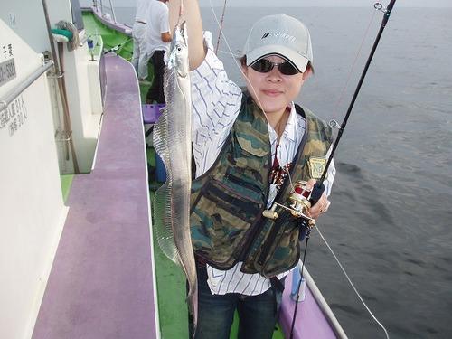 2008.8.12   初挑戦で16匹・東海林昌子さん!