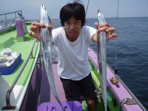 2008.8.12   2番手・55匹・上野さん!