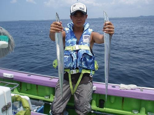 2008.8.12   50匹釣った斉藤さん!